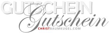 Gutscheine ChristmasShop