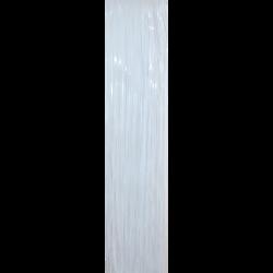 Weiss Lametta glänzend glatt 50cm