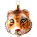 Tiger Inge-Glas® Weihnachtsschmuck