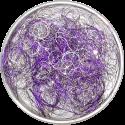 Engelshaar violett-silber 50gr.