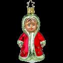 Kind Fertig fürs Fest 10cm Inge-Glas Weihnachtsschmuck Weihnachtsträume