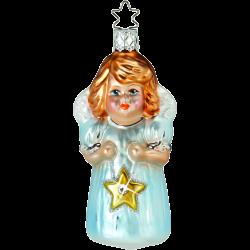 Engel Sternenkind 10,5cm biblischer Inge-Glas Weihnachtsschmuck