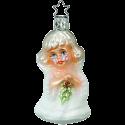Liebes Engelchen 9cm biblischer Inge-Glas Weihnachtsschmuck