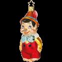 Pinocchio Inge-Glas® Weihnachtsschmuck 11,5cm
