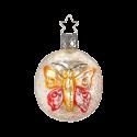 Schmetterlingsornament 6cm Inge-Glas® Manufaktur Nostalgie Christbaumschmuck
