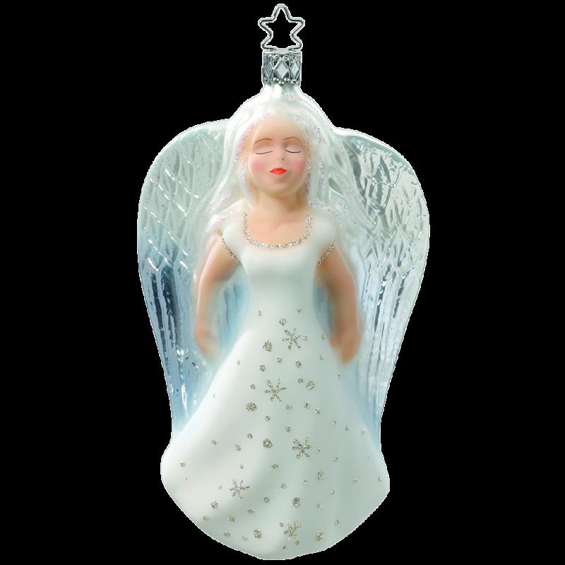 Engelszauber 15,5cm Inge-Glas® Manufaktur Christbaumschmuck