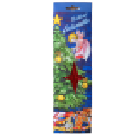 Brillant Eislametta silber, rot, lila Stanniollametta 20gr. 60 Fäden