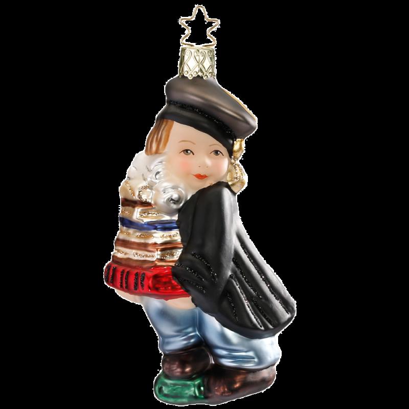 Absolvent 11cm Weihnachtsschmuck von Inge-Glas®