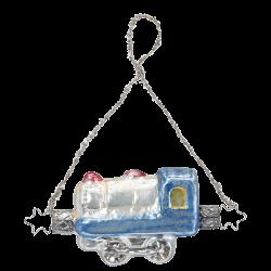 Eisenbahn 8,5cm Nostalgia Inge-Glas® Manufaktur Christbaumschmuck