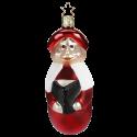 Kurrendeleiter rot 11,5cm Inge-Glas® Weihnachtsschmuck