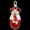 Kurrendeschüler rot 9cm Inge-Glas® Weihnachtsschmuck