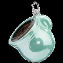 Tasse starker Kaffee 8,5cm Inge-Glas® Weihnachtsschmuck