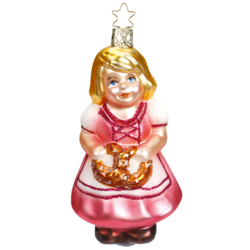 Maria bayerische Weihnacht 11cm Inge-Glas® Weihnachtsschmuck