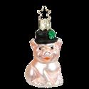 Glücksferkel 6,5cm Inge-Glas Glücksbringer Weihnachtsschmuck