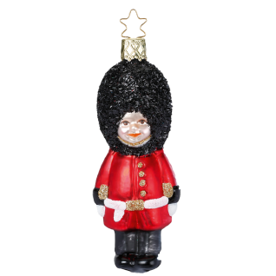 Bobby Royal Guard 12,5cm Inge-Glas® Weihnachtsschmuck