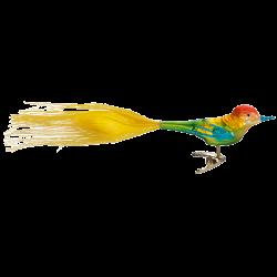 Caruso 9,5cm Vogel Inge-Glas® Weihnachtsschmuck