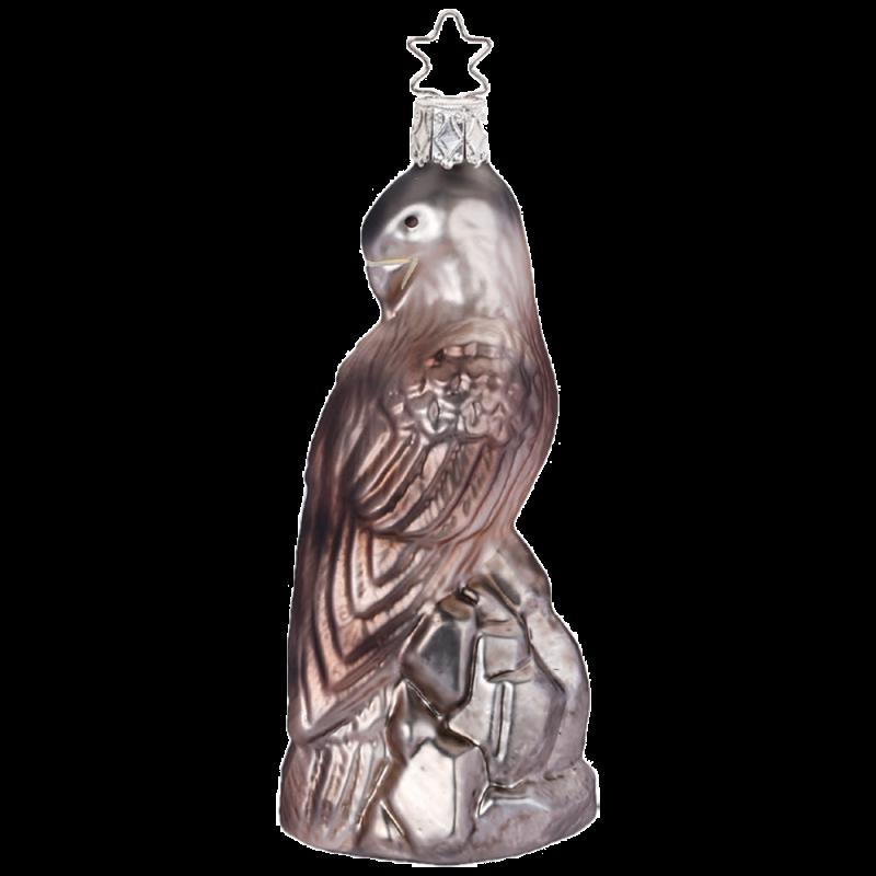 Steinadler 11cm Vogel Inge-Glas® Weihnachtsschmuck