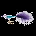 Luxy 7,5cm Vogel Inge-Glas® Weihnachtsschmuck