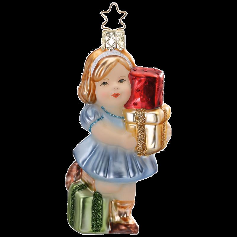 Geschenk für Dich 11cm Weihnachtsschmuck von Inge-Glas®