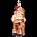 Skifahrer 12,5cm Weihnachtsschmuck von Inge-Glas®