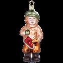 Schlittschuläufer 12,5cm Weihnachtsschmuck von Inge-Glas®