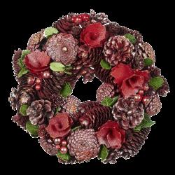 Blumen Kiefernkranz Ø26cm Goodwill Weihnachtsdeko