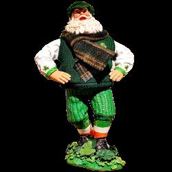 Spieluhr Irish Dancing Santa Claus 30cm Kurt Adler Weihnachtsschmuck