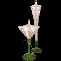 Gläser-Set, Sektglas & Weinglas - Schatzhauser Glasschmuck aus Lauschaer Glas