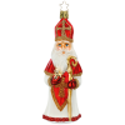 Santa Glodene Äpfel 15cm Inge-Glas® Schmuck Christbaumschmuck