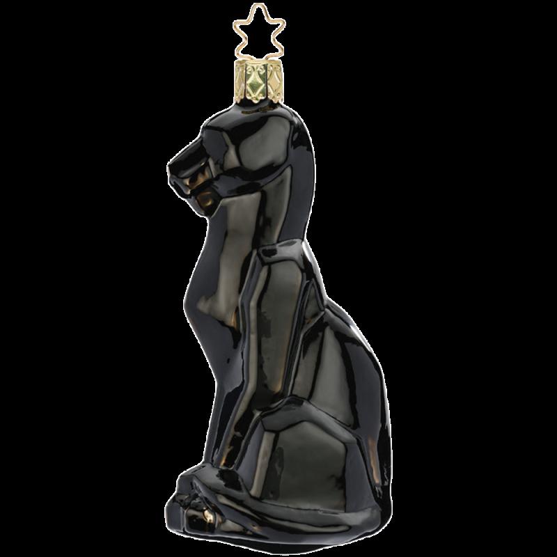 Panther 12,5cm schwarz crazy Nouveau Inge-Glas®Schmuck