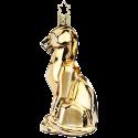 Panther 12,5cm gold crazy Nouveau Inge-Glas®Schmuck