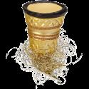 Eierlikörbecher 7cm Inge-Glas® Schmuck Weihnachtsschmuck