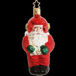 Space Santa 10cm Old Christmas Inge-Glas Weihnachtsschmuck
