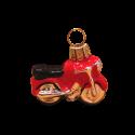 Miniatur Anhänger Weihnachtsschmuck 4cm Thüringer Glas Weihnachtsschmuck