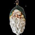 Santa Wunderland Claus Nikolaus 20cm Old Christmas Inge-Glas Weihnachtsschmuck