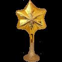 Sternspitze gold 23cm Old Christmas Inge-Glas Weihnachtsschmuck