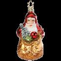 Santa Reiche Bescherung 11cm Inge-Glas® Schmuck Christbaumschmuck