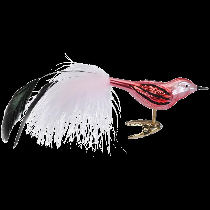 Benita Glasvogel 8,5cm Inge-Glas® Weihnachtsschmuck