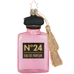 Hello Beauty Eau de Parfum 10,5cm Inge-Glas® Weihnachtsschmuck
