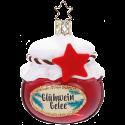 Glühwein Gellee 7cm Inge-Glas® Köstlichkeiten Weihnachtsschmuck
