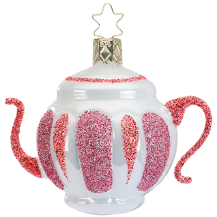 verrückte Teekanne 7cm crazy tea party Inge-Glas®Schmuck