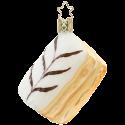 Napoleon Schnitte 7,5cm Inge-Glas® Köstlichkeiten Weihnachtsschmuck