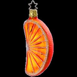 Orangestück 10cm Inge-Glas® Köstlichkeiten Weihnachtsschmuck