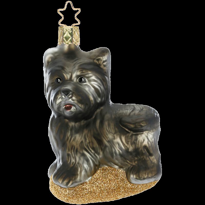 Scottish Terrier 10cm Inge-Glas® Manufaktur Weihnachtsschmuck