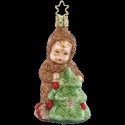Männlein im Walde 10cm Inge-Glas Manufaktur Winter Woodland Weihnachtsschmuck