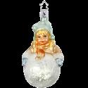 Sophies Schneeball 11cm Inge-Glas Manufaktur Silent Home Weihnachtsschmuck