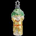 Unterm Tannenzweig 9,5cm Nostalgia Inge-Glas® Manufaktur Christbaumschmuck