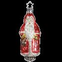 Nostalgischer Santa 10,5cm Nostalgia Inge-Glas® Manufaktur Christbaumschmuck