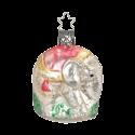 Elefant 7cm Inge-Glas® Manufaktur Nostalgie Christbaumschmuck