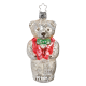 Bär 11cm Inge-Glas® Manufaktur Nostalgie Christbaumschmuck